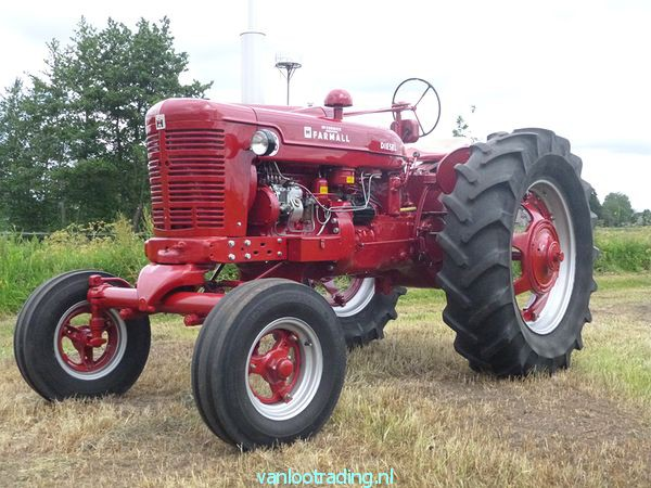 Farmall Super BMD - oltimer 025-BorderMaker