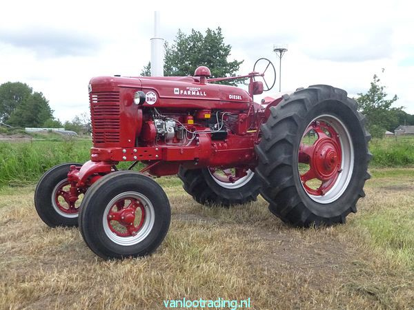 Farmall Super BMD - oltimer 026-BorderMaker