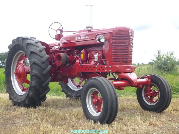 Farmall Super BMD - oltimer 027-BorderMaker