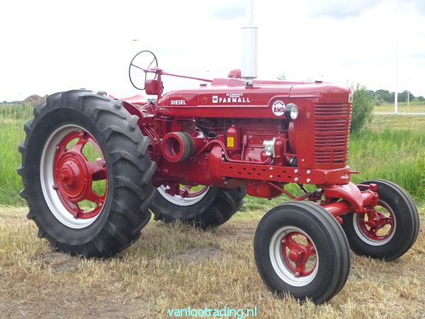 Farmall Super BMD - oltimer 028-BorderMaker