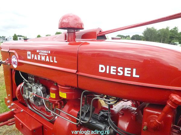 Farmall Super BMD - oltimer 032-BorderMaker