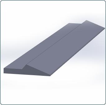Voorzetmes HB 500 - 221gewalstprofielmes